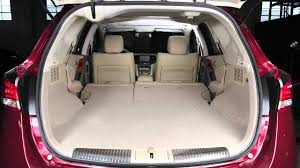 nissan leaf boot space 2012 nissan murano folding down the rear seats youtube