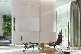 a contemporary living room project named eco atrium