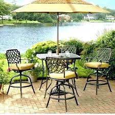 Patio Bar Height Table And Chairs Patio Furniture Bar Height Patio Set Bar Height Shanni Me