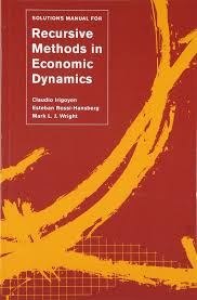 solutions manual for u003ci u003erecursive methods in economic dynamics u003c i