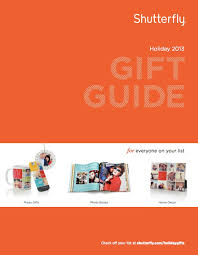 shutterfly holiday gift guide direct mail u2013 copywriting services