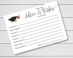 advice cards for advice cards for the graduate graduation party wishes
