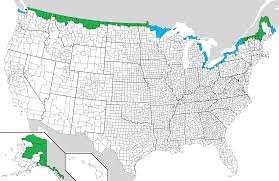map us and canada file us canada border counties png wikimedia commons