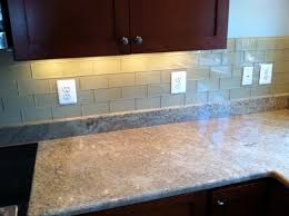 Backsplash Subway Tiles For Kitchen Khaki Glass Subway Tile Kitchen Backsplash Subway Tile Outlet