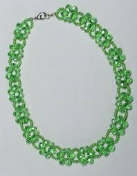 beaded ball necklace images Free pattern for beaded necklace laurel beads magic jpg