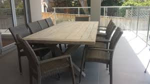 Patio Furniture Australia by Whitewashed Teak Outdoor Elegance