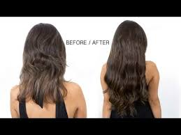 clip on hair extensions how to apply clip in hair extensions
