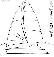 boat coloring pages coloring pages to download and print