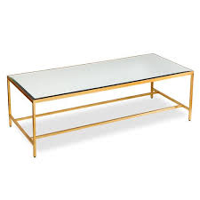 gold leaf coffee table liam gold coffee table
