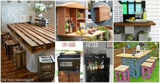Pallet Furniture Outdoor Bar 30 Creative Diy Wine Bars For Your Home And Garden