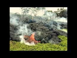Backyard Volcano Lava Flow From Hawaii Volcano I U0027m My Backyard Youtube