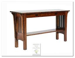 mission style console table mission sofa table mission style console table luxury images mission