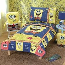 Spongebob Bedding Sets Spongebob Squarepants 4 Toddler Bedding Bed Set