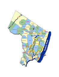 New Jersey Zip Code Map by Bergen County New Jersey Zip Code Boundary Map Inside Of County Nj