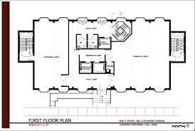 floor plan for commercial building commercial office building plans first floor plan modern small