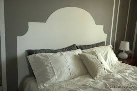 White Painted Headboard by How To Paint A Headboard On The Wall Interiors By Kenz