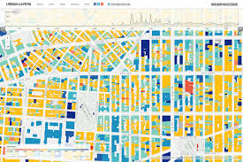 Nyc City Map Urban Layers Explore The Structure Of Manhattan U0027s Urban Fabric