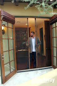 Patio Door Magnetic Screen Plexiglass Door Panels Magnetic Screens For Patio Doors Sliding