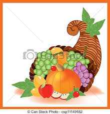 thanksgiving day food a vector illustration in eps file vector