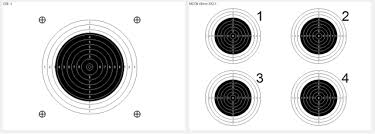 target design for shooting practice