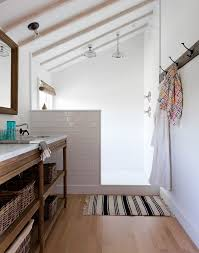 Open Shower Bathroom Best 25 Open Showers Ideas On Pinterest Open Style Showers