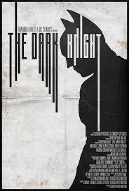 the dark knight alt minimalist poster by edwardjmoran on deviantart