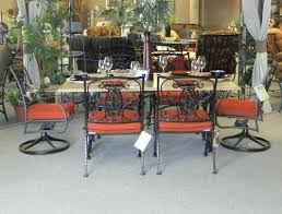 Retro Patio Furniture For Sale by Wrought Iron Patio Furniture Benches Coach Leather Lexi Style