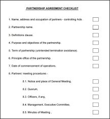 partnership agreement templates south africa best resumes
