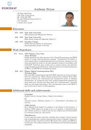 unique ideas best resume format inspirational design the for
