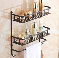Bathroom Wall Storage All Copper Black Bathroom Shelf Bathroom Wall Storage Rack Storage