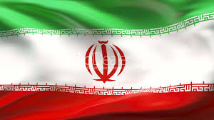 National Flag Iran Creased Iran Flag In Wind Slow Motion Royalty Free Video And