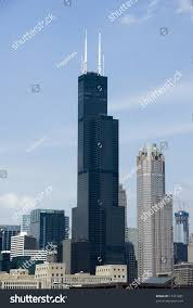 Sears Tower by Chicagos Famous Sears Tower Building Stock Photo 17361085