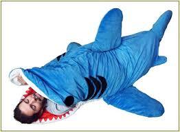 Shark Bean Bag Shark Bean Bag Chair Blue Florist H G