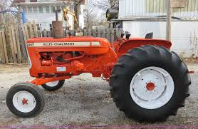 1966 allis chalmers d17 series 4 tractor item i2292 sold
