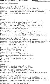 my immortal evanescence testo lithium lyrics and chords caffeine linux