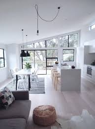 Kitchen And Living Room Flooring Ideas by Best 25 Open Plan Ideas On Pinterest Open Plan Living Open
