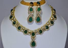 best necklace sets images Kundan designer necklace set manufacturer in west bengal india by jpg