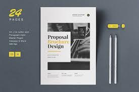 proposal brochure by estartshop on creativemarket brochure