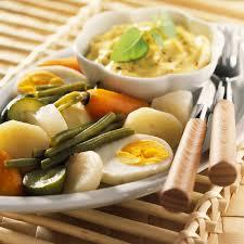 aïoli allégé aux légumes vapeur recette légumes vapeur les