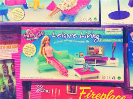 barbie house black friday miniature leisure living room furniture set for barbie doll house