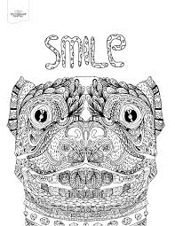 10 toothy coloring pages printable off the cusp