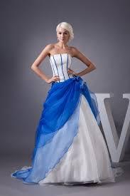 wedding dress blue white and royal blue wedding dresses 2017 2018 b2b fashion