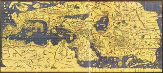 Map Note Tabula Rogeriana Drawn By Al Idrisi For Roger Ii Of Sicily In
