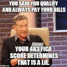Paying Bills Meme - maury lie detector meme imgflip