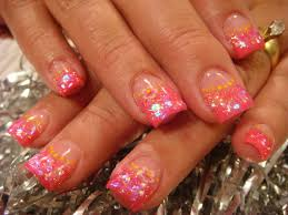 pink acrylic nails designs 2015 best nails design ideas