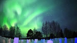 finland northern lights hotel northern lights in arctic snowhotel in rovaniemi in lapland finland