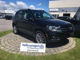 volkswagen tiguan 2017 with 14 500km at gatineau near ottawa