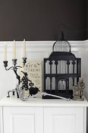 interior design halloween home decor tour pink peppermint design