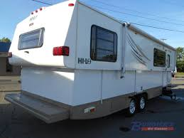 used 2007 hi lo trailer classic 2807c travel trailer at burdicks