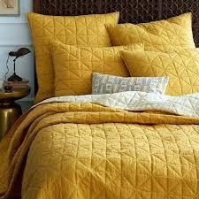 west elm coverlet yellow quilts and comforters boltonphoenixtheatre com